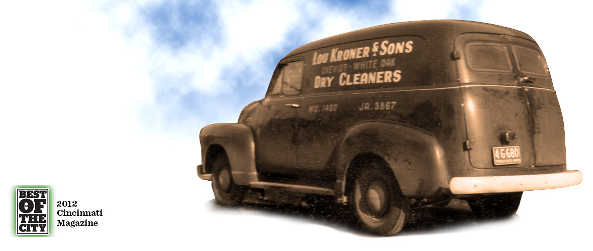 Kroner Dry Cleaners Delivery Van circa 1939